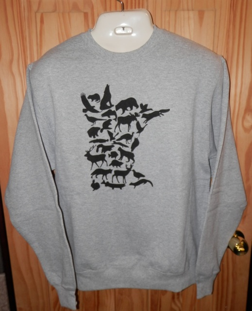 MN Wildlife Crewneck Sweatshirt
